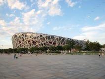 PEQUIM - 14 DE JUNHO: O estádio de nacional de Pequim Fotografia de Stock Royalty Free
