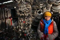 Pequim do mercado de Panjiayuan Fotografia de Stock