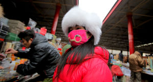 Pequim do mercado de Panjiayuan Foto de Stock Royalty Free