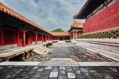 Pequim oriental China da Cidade Proibida do palácio Foto de Stock