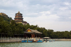 Pequim, palácio de verão Foto de Stock
