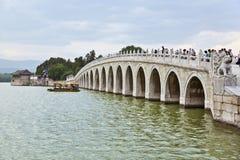 Pequim, palácio de verão Fotos de Stock Royalty Free