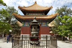 Pequim, templo da Lama Imagens de Stock Royalty Free
