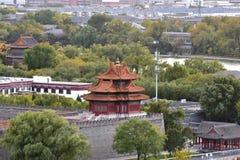 Pequim a torre de vigia imperial do palácio imagem de stock royalty free
