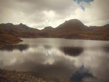 Perú美丽的湖  图库摄影