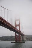 Período de golden gate bridge, San Francisco Fotos de Stock Royalty Free