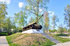 IS-3 - Período pesado soviético del desarrollo del tanque de la gran guerra patriótica Fotos de archivo