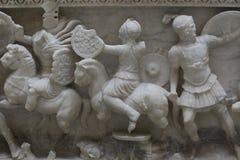 Período romano Cladius Severinus y sarcófago A de Berenice D 2 Fotos de archivo