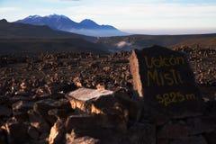 Perú, Misti Volcano Fotografía de archivo