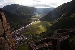 Perú, valle sagrado Imagenes de archivo