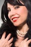 perłowy uśmiech zdjęcia royalty free