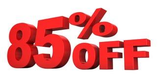 85 per cento fuori Royalty Illustrazione gratis