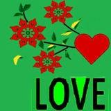 Per coloro che ama e che vogliono essere amati da questo modello - un'immagine Illustrazione Vettoriale