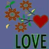 Per coloro che ama e che vogliono essere amati da questo modello - un'immagine Illustrazione di Stock