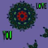 Per coloro che ama e che vogliono essere amati da questo modello - un'immagine Royalty Illustrazione gratis