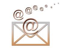 Per e-mail? royalty-vrije illustratie