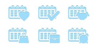 per fare concetto della raccolta dell'icona della lista Immagini Stock
