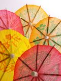 Per gli ombrelli del cocktail Fotografia Stock Libera da Diritti