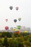 quinti Festa internazionale 2013 del pallone di aria calda di Putrajaya Immagine Stock Libera da Diritti