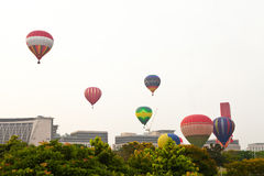 quinti Festa internazionale 2013 del pallone di aria calda di Putrajaya Fotografie Stock Libere da Diritti