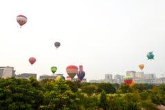 quinti Festa internazionale 2013 del pallone di aria calda di Putrajaya Immagini Stock Libere da Diritti