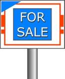 Per il segno di vendita royalty illustrazione gratis