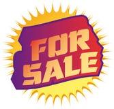 Per il tasto di vendita Fotografie Stock