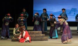 "per incontrare gli Shan di Master-Shanxi Operatic""Fu al  di Beijing†Immagine Stock"