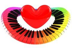 Per l'amore di musica Immagine Stock