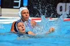 14-4 per l'Italia contro la Francia nel preliminare Immagini Stock