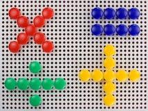 Per la matematica Fotografia Stock