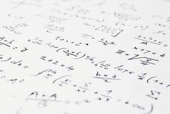 Per la matematica Immagini Stock