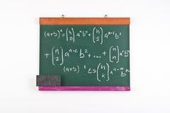 Per la matematica Immagini Stock Libere da Diritti