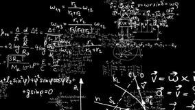 Per la matematica 1 illustrazione vettoriale