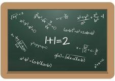 Per la matematica di formula Fotografia Stock Libera da Diritti
