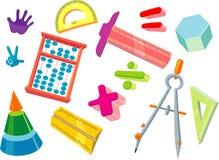 Per la matematica per i bambini Fotografia Stock