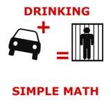 Per la matematica semplice Immagini Stock