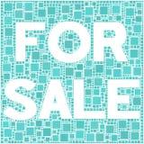 Per la vendita! Fotografia Stock Libera da Diritti