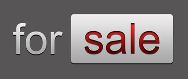 Per la vendita Immagine Stock
