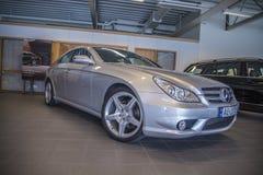 Per la vendita, amg dei cls del Mercedes-benz Fotografia Stock Libera da Diritti