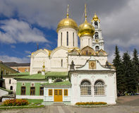 Trinità Lavra della st Sergius. Annesso di Nikon Fotografia Stock