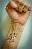 Per per essere! Fotografia Stock Libera da Diritti