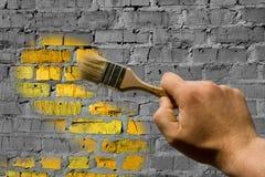Per per verniciare la parete immagini stock libere da diritti