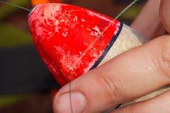 per preparare una barretta per pescare Fotografia Stock