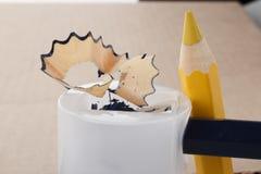 Per temperare le matite Fotografia Stock Libera da Diritti