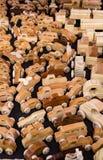 Per-vendita di legno dei giocattoli a Vinton Dogwood Festival Fotografia Stock Libera da Diritti