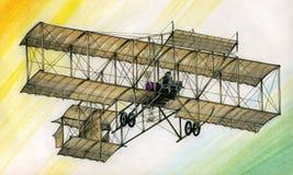 Per-WW1 Bristol Boxkite illustration de vecteur