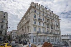 Pera华园大饭店伊斯坦布尔 免版税库存图片