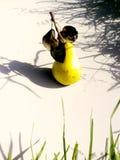 Pera amarela madura, apetitosa fotografia de stock