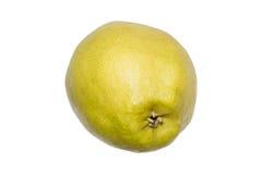 Pera amarela madura isolada no branco Imagens de Stock Royalty Free